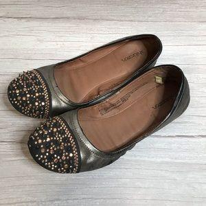 Metallic Flats Size 8